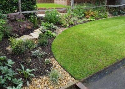 Front garden makeover in Fetcham